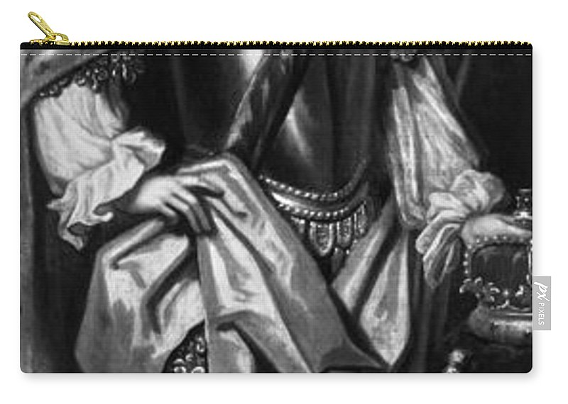 1716 Carry-all Pouch featuring the painting George II (1683-1760) by Granger