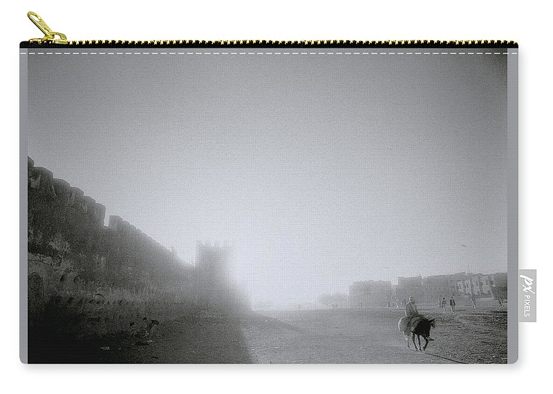 Solitude Carry-all Pouch featuring the photograph The Simple Life by Shaun Higson