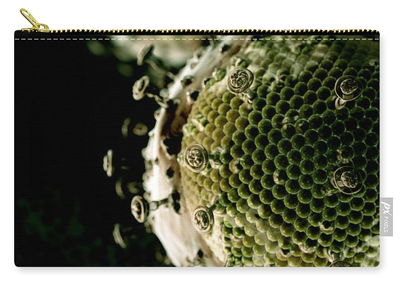Vertical Carry-all Pouch featuring the photograph Hiv by Science Picture Co