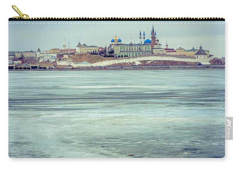 Kazan Carry-all Pouch featuring the photograph Kazan Kremlin by Alexey Stiop