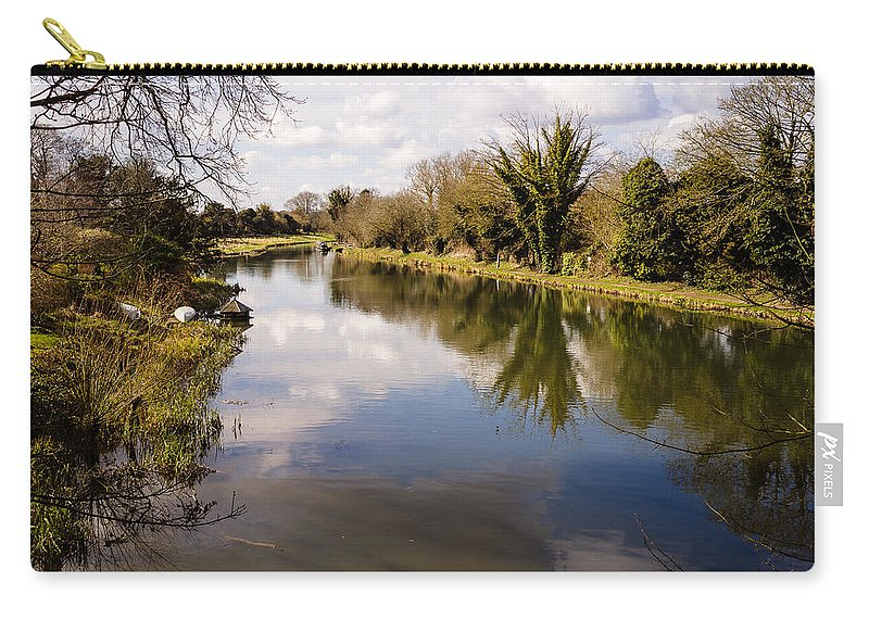 Avon Carry-all Pouch featuring the photograph Kennet And Avon Canal by Mark Llewellyn