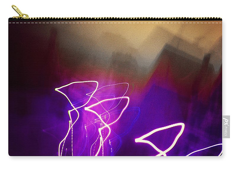 Art Carry-all Pouch featuring the photograph Light Fantastique by Edmund Nagele