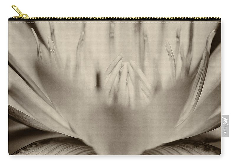 Beautiful Carry-all Pouch featuring the photograph Lotus Flower by U Schade