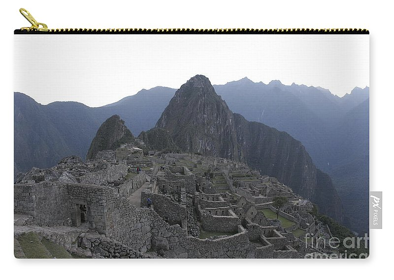 Travel Carry-all Pouch featuring the photograph Machu Picchu by Jason O Watson
