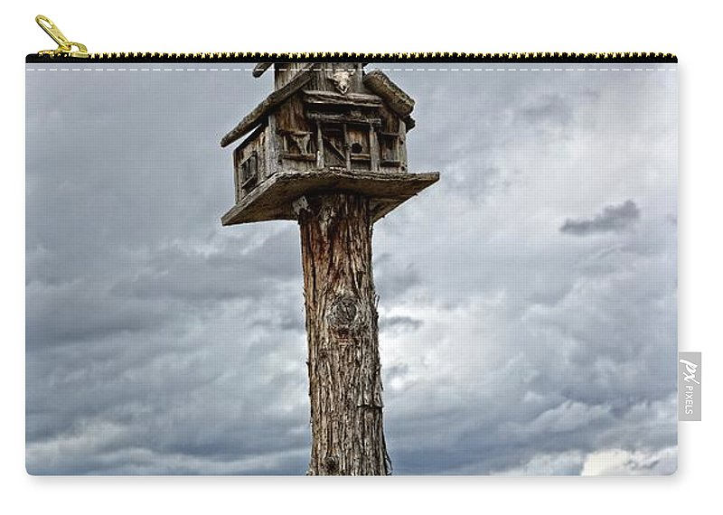 Birdhouse Carry-all Pouch featuring the photograph Melba Idaho by Image Takers Photography LLC