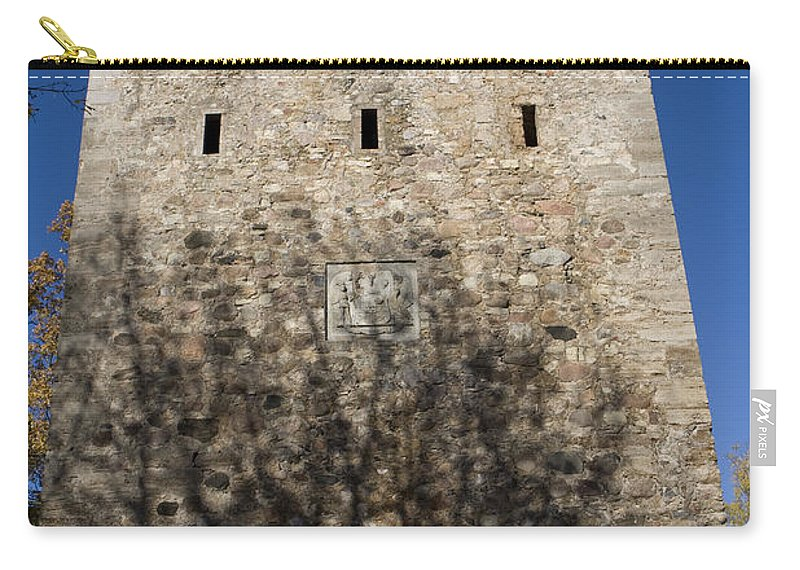 Travel Carry-all Pouch featuring the photograph Old Sigulda Castle Ruins by Jason O Watson