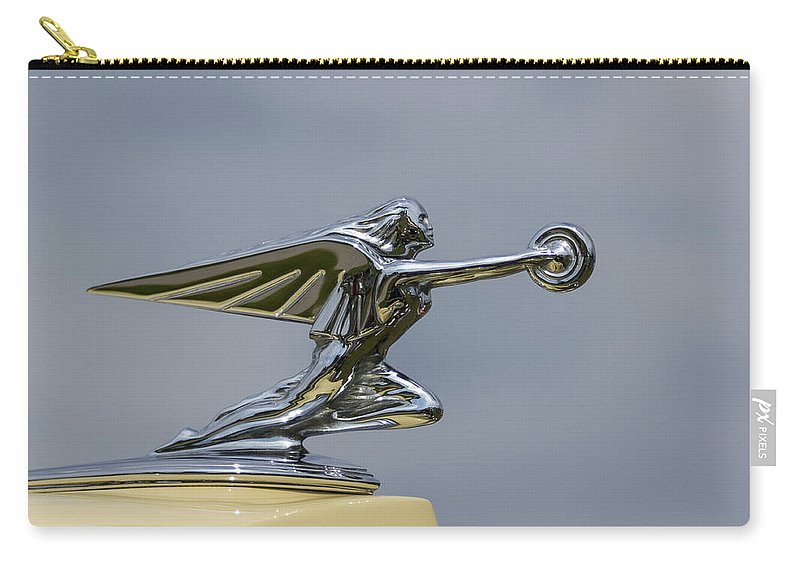 Goddess Carry-all Pouch featuring the photograph Packard 1936-37 by Jack R Perry