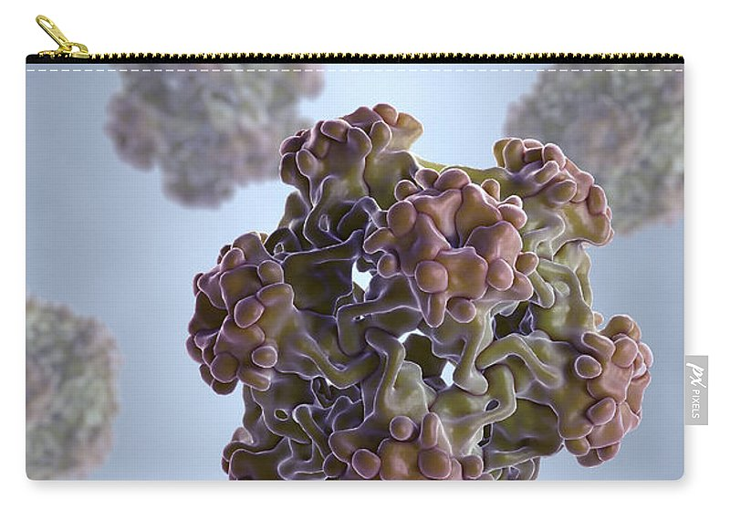 Sickness Carry-all Pouch featuring the photograph Papillomavirus by Science Picture Co