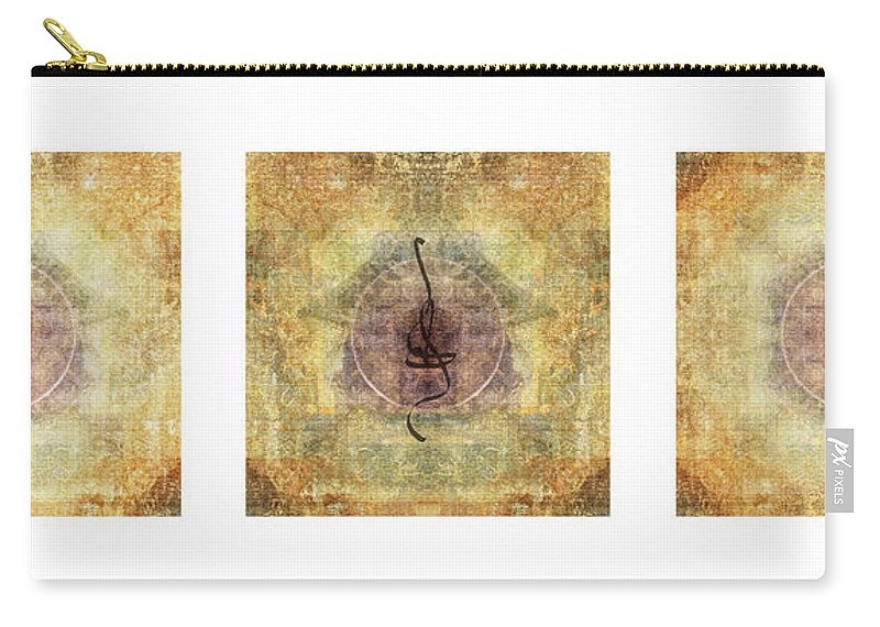 Prayer Carry-all Pouch featuring the photograph Prayer Flag Triptych by Carol Leigh