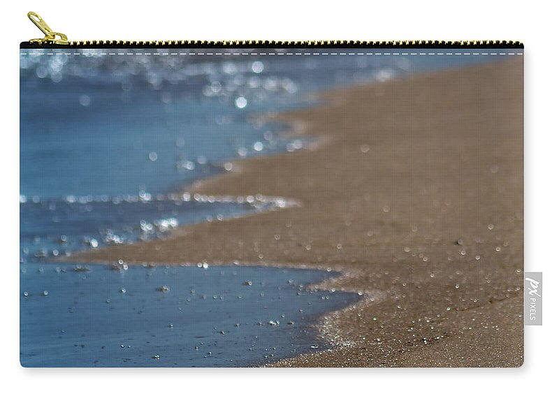 America Carry-all Pouch featuring the photograph sea by Stelios Kleanthous