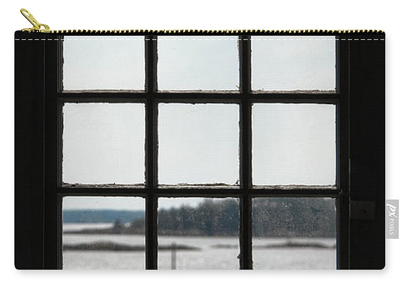 Boat Carry-all Pouch featuring the photograph Through An Old Window by Olivier Le Queinec