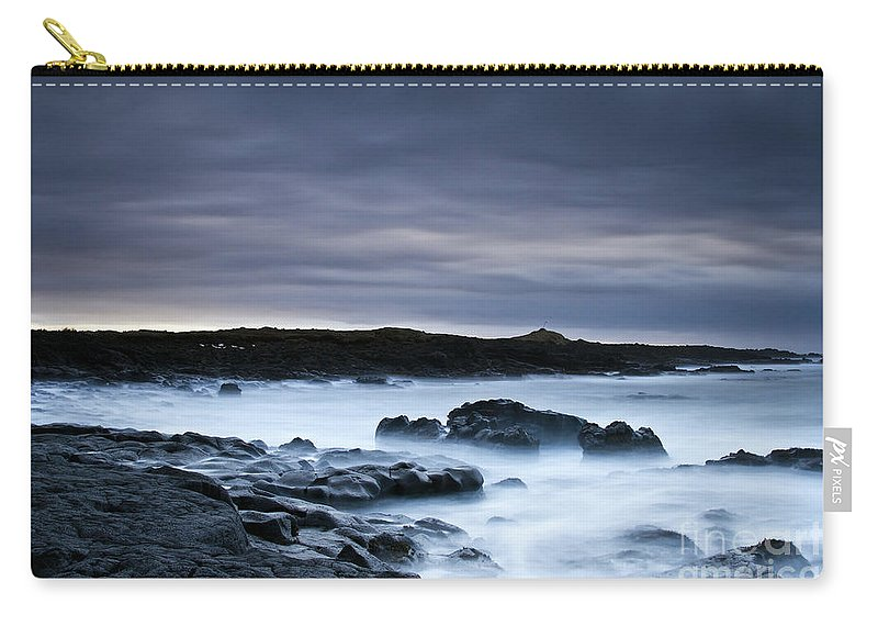 Nature Carry-all Pouch featuring the photograph Time by Gunnar Orn Arnason
