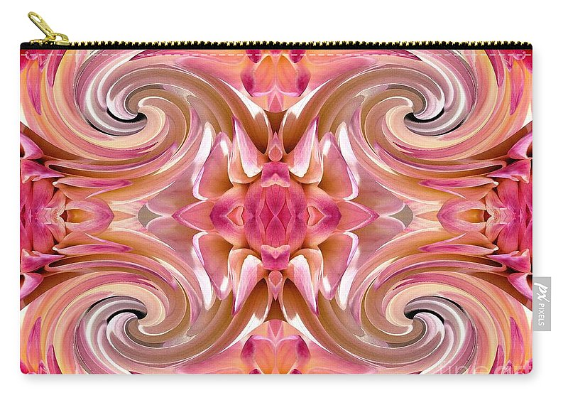 Mccombie Carry-all Pouch featuring the painting Valley Porcupine Abstract by J McCombie