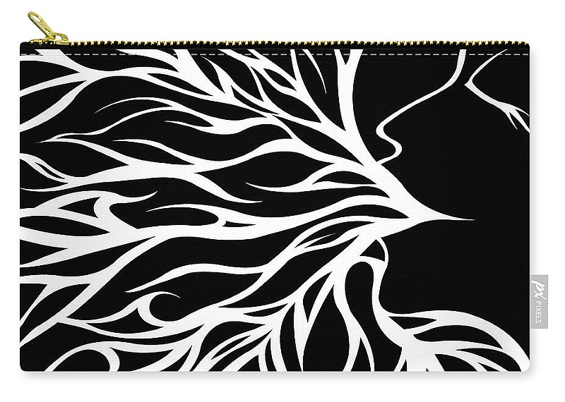 Jamie Lynn Gabrich Carry-all Pouch featuring the digital art Viliansbreath by Jamie Lynn