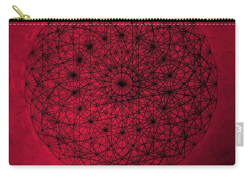 Jason Carry-all Pouch featuring the drawing Wave Particle Duality by Jason Padgett