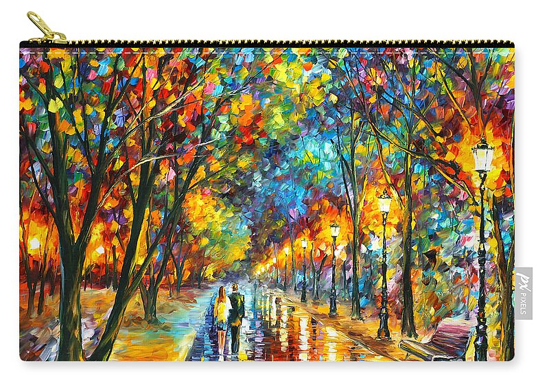 Park Carry-all Pouch featuring the painting When Dreams Come True by Leonid Afremov
