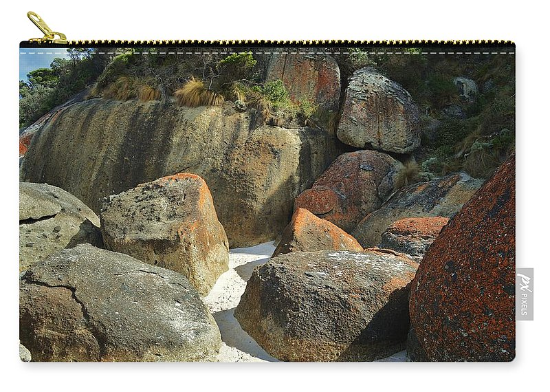 Wilsons Promontory Carry-all Pouch featuring the photograph Wilsons Prom by Snowflake Obsidian