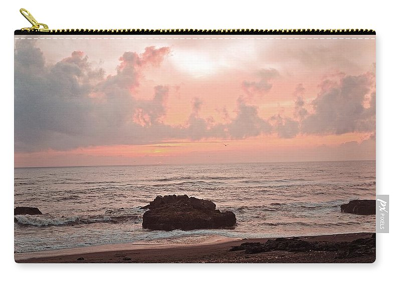 Yachats Carry-all Pouch featuring the photograph Yachats Oregon by Image Takers Photography LLC