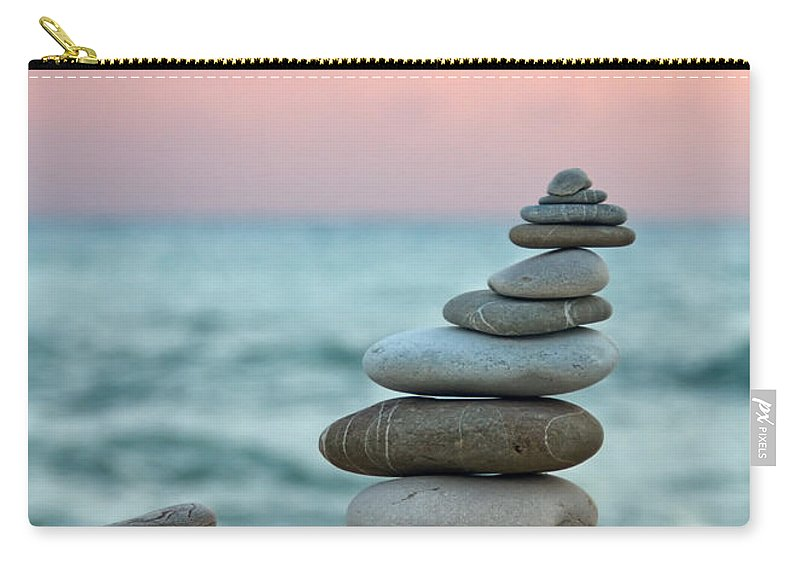 Abstract Carry-all Pouch featuring the photograph Zen by Stelios Kleanthous