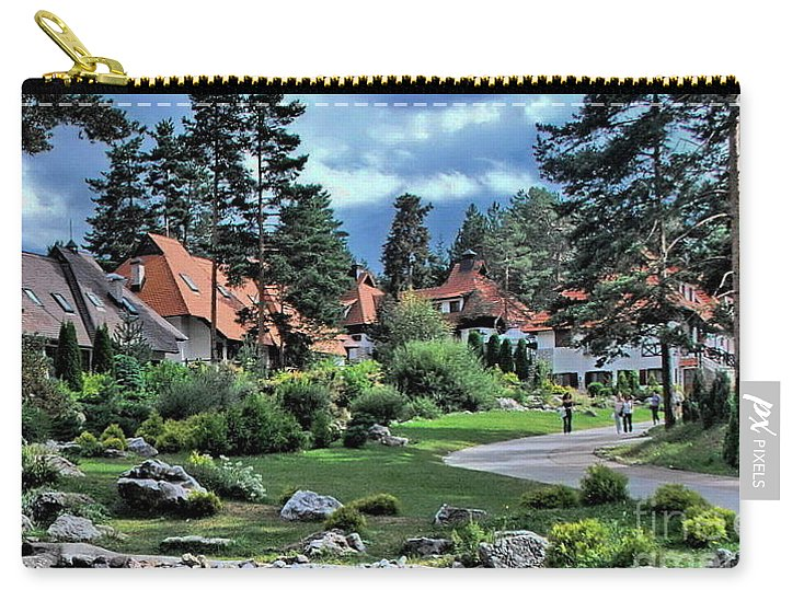 Travels Carry-all Pouch featuring the photograph Zlatibor by Marija Djedovic