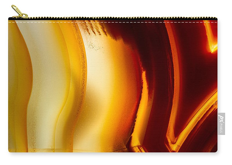 Design Carry-all Pouch featuring the photograph Rock Star by Jean Noren