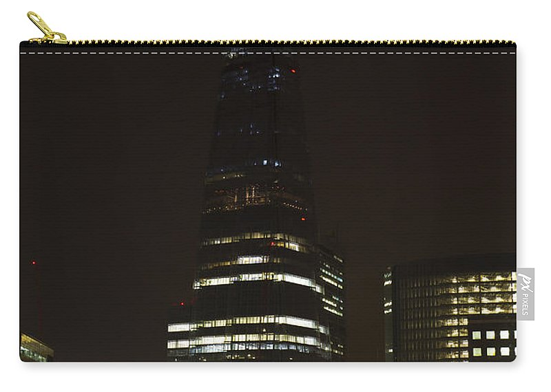 The Shard Carry-all Pouch featuring the photograph The Shard London by David Pyatt