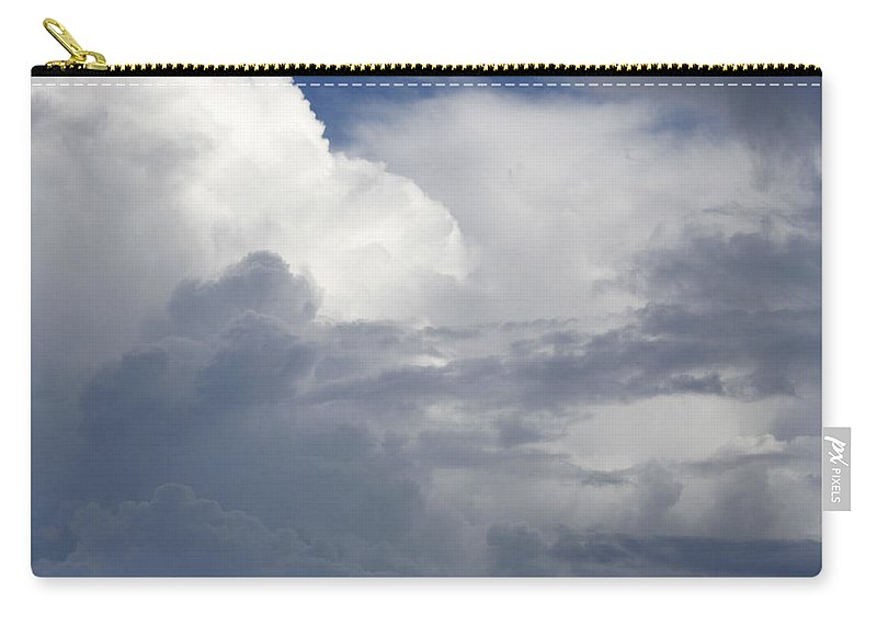 Dramatic Sky Carry-all Pouch featuring the photograph Clouds by Les Cunliffe