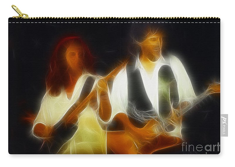 Abstract Carry-all Pouch featuring the photograph 38 Special-94-jeffndanny-gc1a-fractal by Gary Gingrich Galleries
