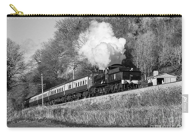 West Carry-all Pouch featuring the photograph 3850 At Castle Hill by Rob Hawkins