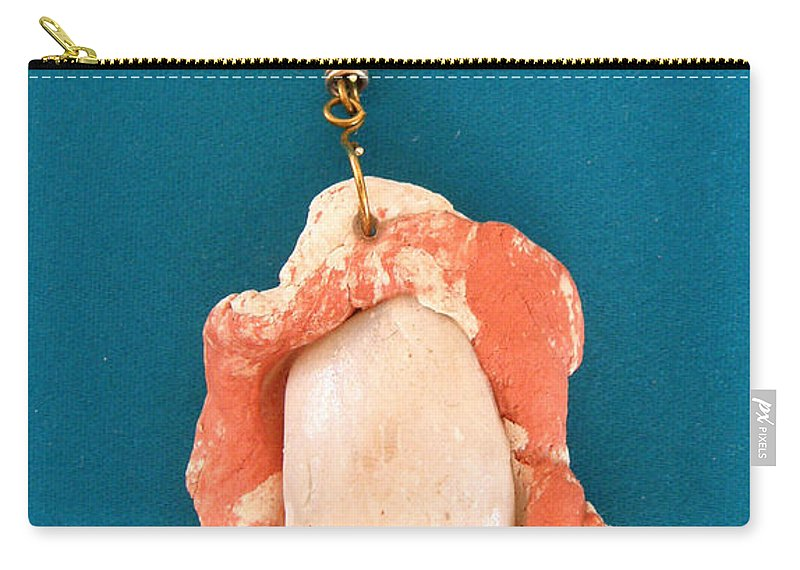 Augusta Stylianou Carry-all Pouch featuring the jewelry Aphrodite Earring by Augusta Stylianou