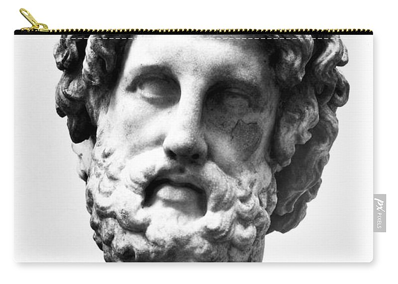 300 B.c Carry-all Pouch featuring the photograph Asklepios by Granger