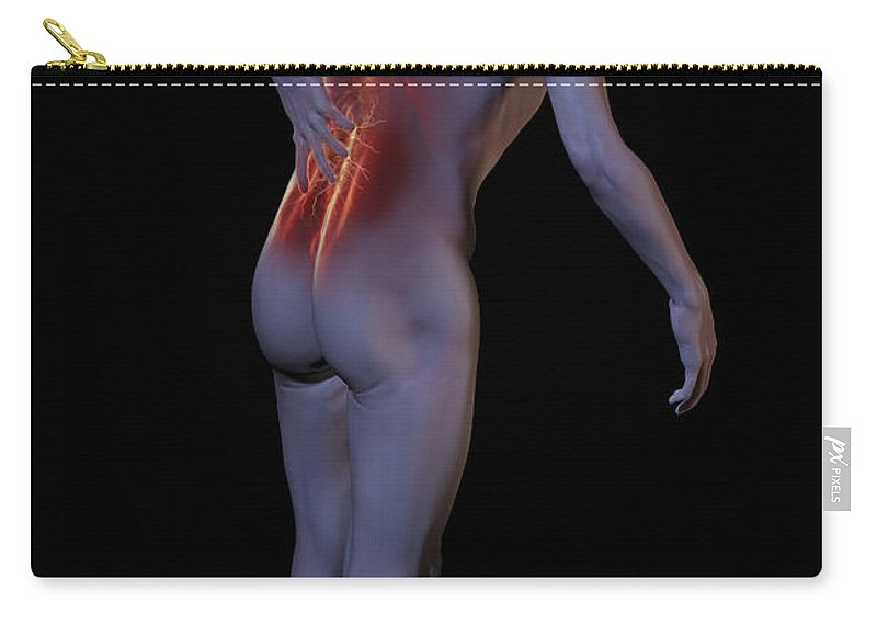 Back Pain Carry-all Pouch featuring the photograph Back Pain by Science Picture Co