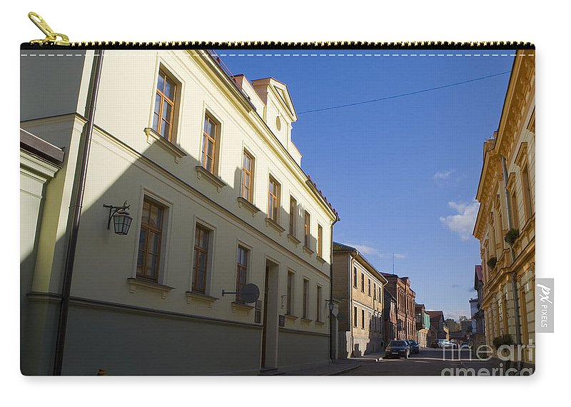 Travel Carry-all Pouch featuring the photograph Cesis Latvia by Jason O Watson