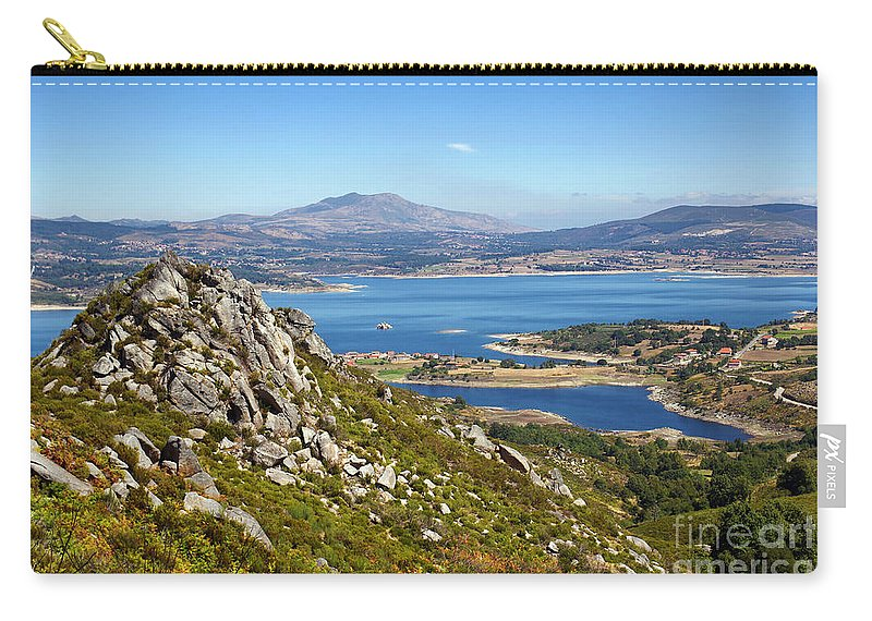 Portugal Carry-all Pouch featuring the photograph Countryside Landscape by Carlos Caetano