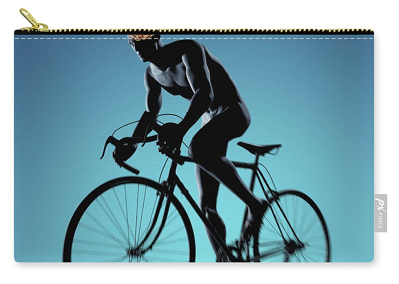 Thought Carry-all Pouch featuring the photograph Cycling by Science Picture Co