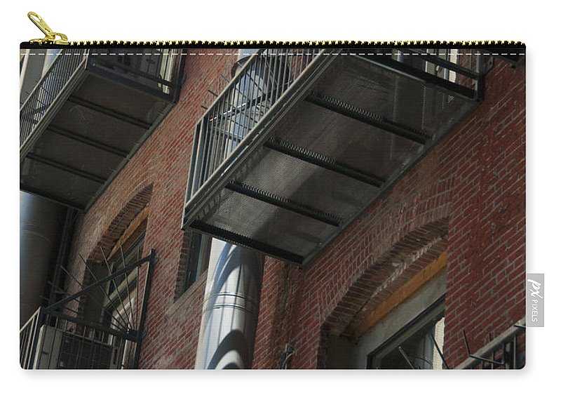 Denver Carry-all Pouch featuring the photograph Denver Street Scenes by Lee Roth