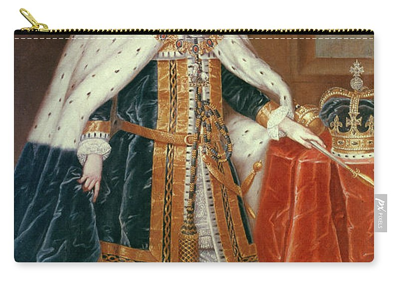 1727 Carry-all Pouch featuring the painting George II (1683-1760) by Granger