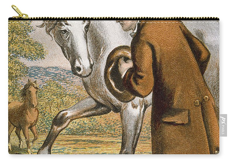 19th Century Carry-all Pouch featuring the photograph Gullivers Travels by Granger