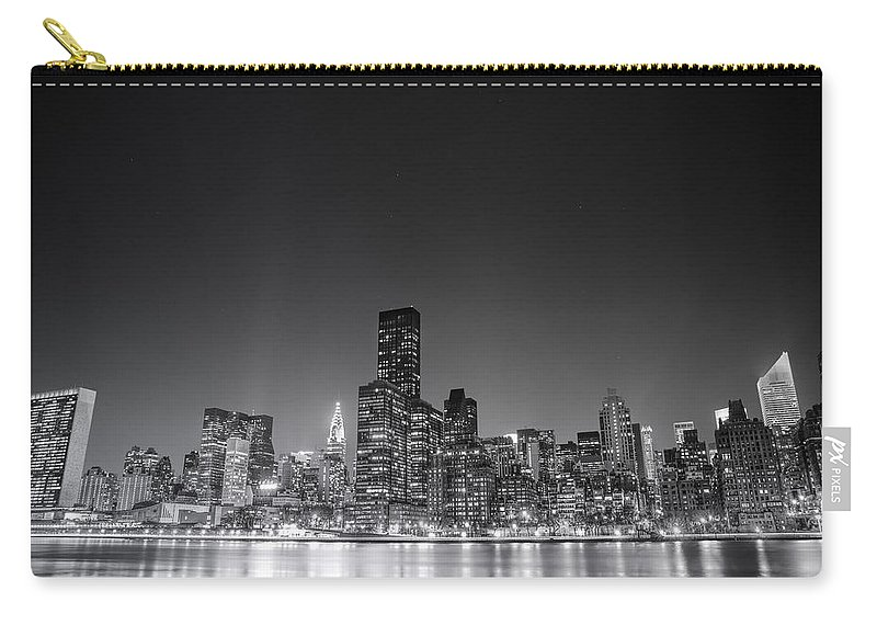 Nyc Carry-all Pouch featuring the photograph New York City by Vivienne Gucwa