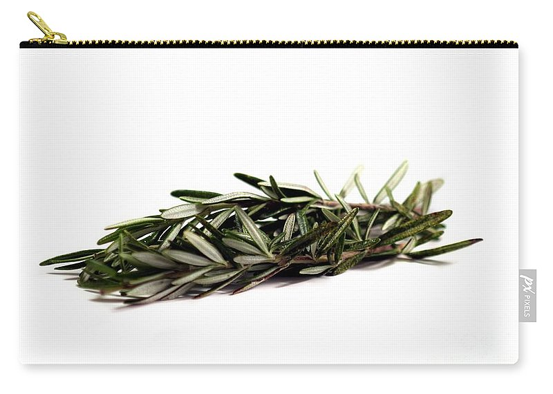 Aroma Carry-all Pouch featuring the photograph Rosemary by Henrik Lehnerer