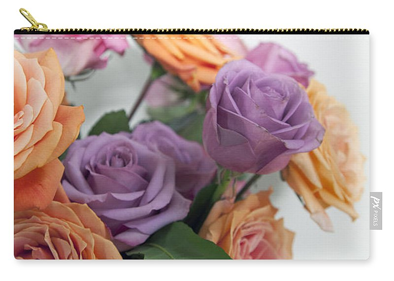Roses Carry-all Pouch featuring the photograph Roses by Amanda Barcon