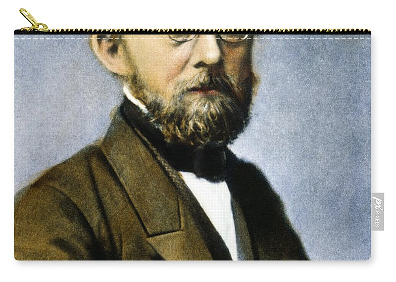 19th Century Carry-all Pouch featuring the photograph Rudolf Virchow (1821-1902) by Granger