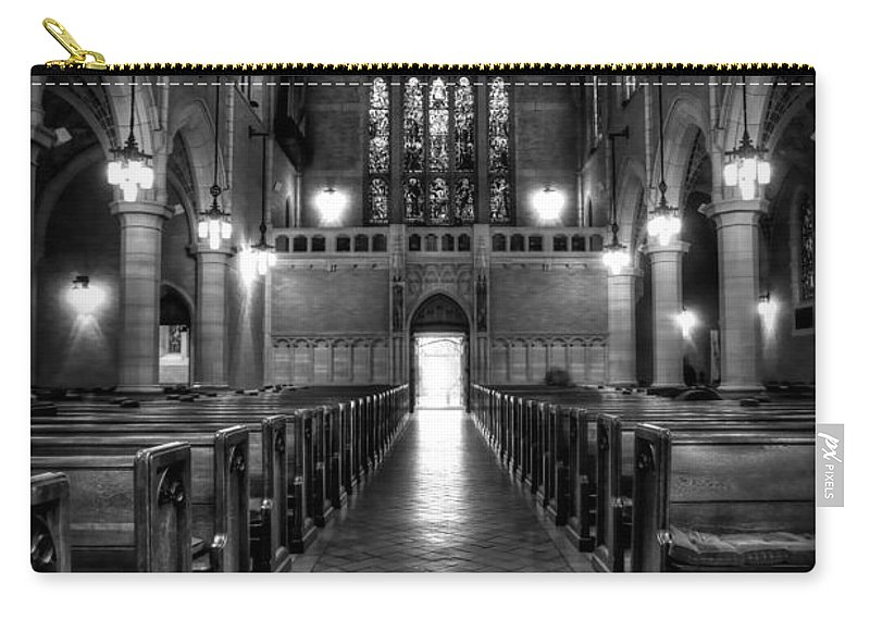 Mn Church Carry-all Pouch featuring the photograph Saint Marks Episcopal Cathedral by Amanda Stadther