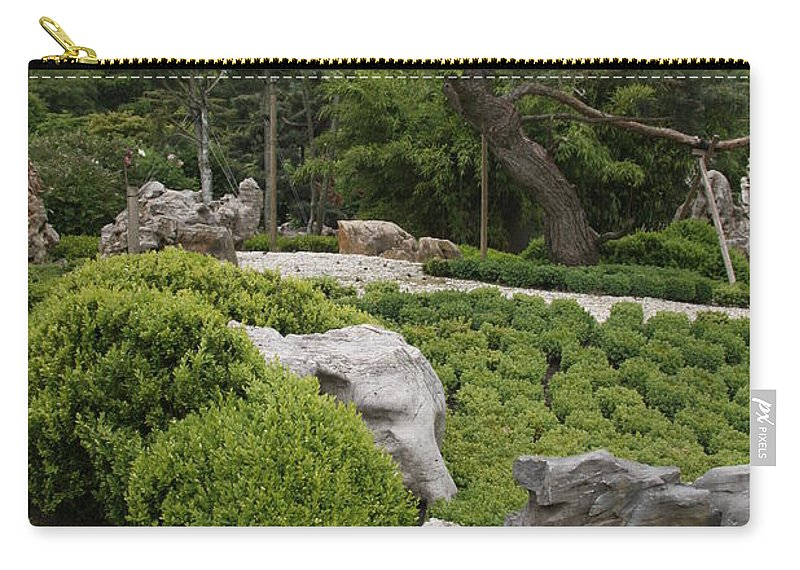 Park Carry-all Pouch featuring the photograph Springtime In The Park by Christiane Schulze Art And Photography