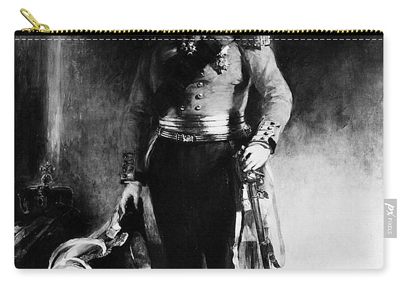 1833 Carry-all Pouch featuring the painting William Iv (1765-1837) by Granger