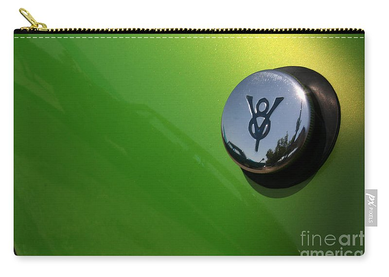 1940 Carry-all Pouch featuring the photograph 40 Ford - Tank-8517 by Gary Gingrich Galleries