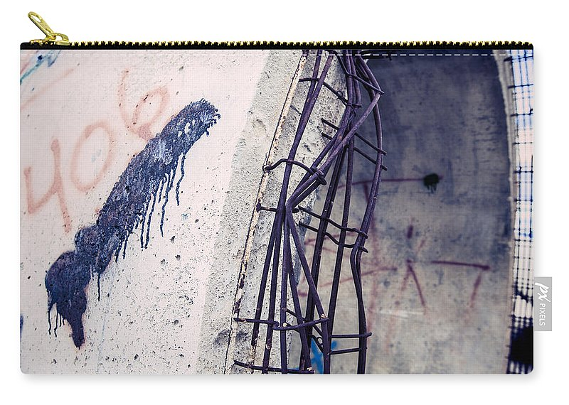 406 Carry-all Pouch featuring the photograph 406 by Fran Riley