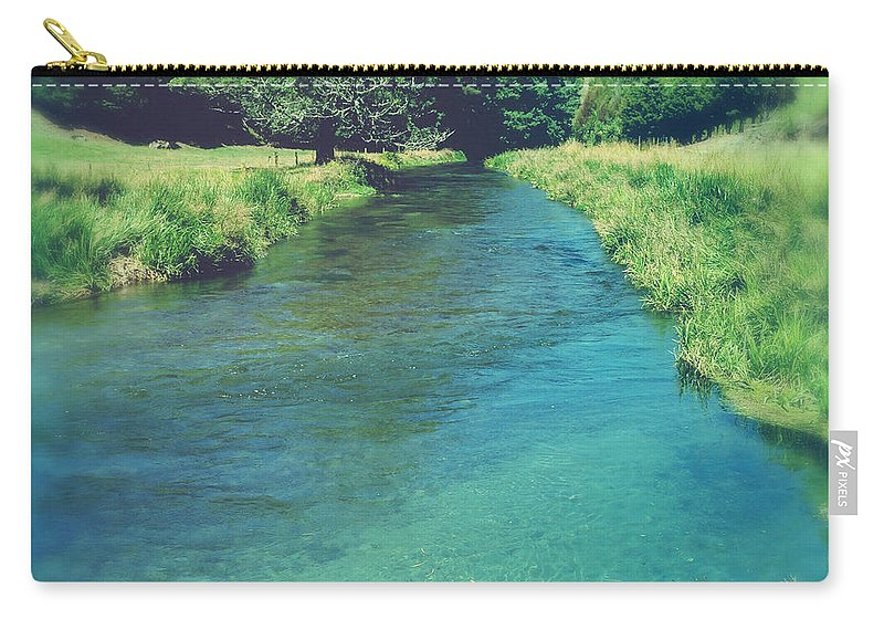 Water Carry-all Pouch featuring the photograph Spring Water by Les Cunliffe