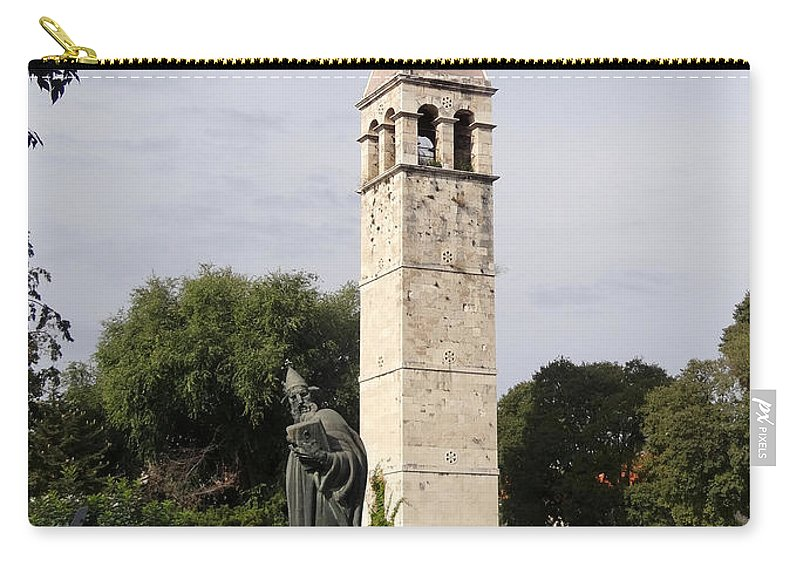 Split Croatia Carry-all Pouch featuring the photograph Views Of Split Croatia by Richard Rosenshein
