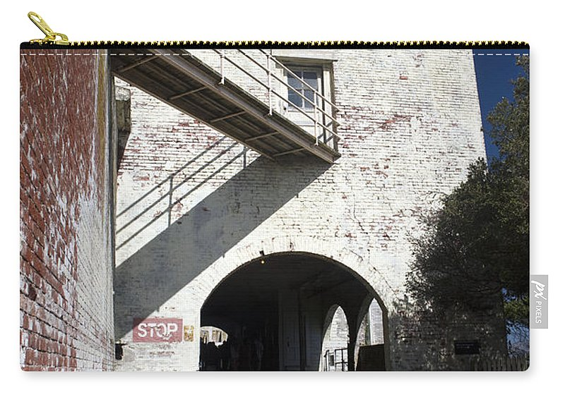 United States Of America Carry-all Pouch featuring the photograph Alcatraz Island by Jason O Watson